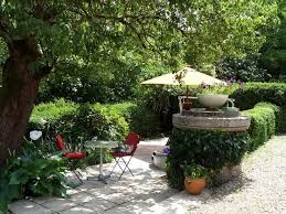 wood floor add gardenawesome garden terrace design with trees and green planrt plus flower decorated with square glass coffee beautiful combination wood metal furniture