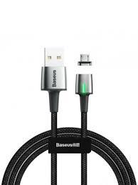 Кабель магнитный <b>Baseus Zinc Magnetic</b> Cable USB For Micro 2.4 ...