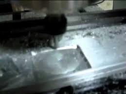 Гравировка алюминия на фрезерном станке <b>Sicono SIC330</b> ...