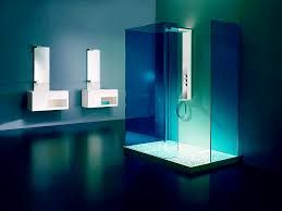 excotic blue bathroom shower lighting amazing lighting ideas bathroom lighting