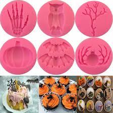Top Sale 1Pcs <b>Halloween</b> Shape <b>Silicone Cake</b> Molds, Bakeware ...