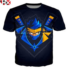 HX New Game Fortnite Ninja <b>3D Print</b> T Shirt Unisex Funny <b>Hipster</b> ...