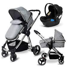 Babylo <b>Panorama</b> Travel System & <b>Car</b> Seat Grey - Smyths Toys