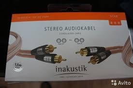 <b>Inakustik Межблочный кабель</b> Star Audio <b>cable</b>, RCA купить в ...