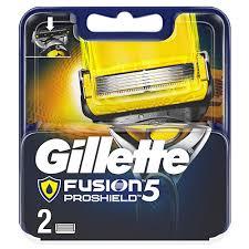 <b>Кассеты для</b> станка `GILLETTE` `<b>FUSION</b>` <b>PROSHIELD</b> 2 шт ...