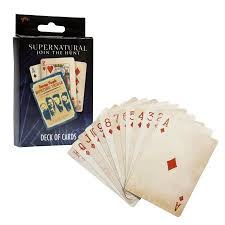 <b>Supernatural</b> Collectibles | <b>Supernatural Playing</b> Cards | <b>TV Series</b> ...