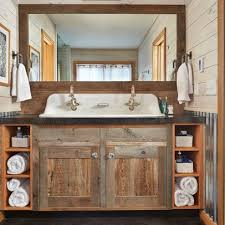 country themed reclaimed wood bathroom storage: rustic bathroom design ideas rustic bathrooms design ideas pictures remodel and decor cambiogas