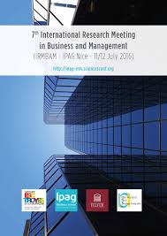 international research meeting in business and management ipag colloque international research nice