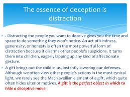 Image result for deception by distraction
