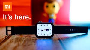 <b>Умные часы Xiaomi</b> Mi Watch поступили в продажу. Цена ...