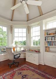 office built ins ideas home office traditional with paneled ceiling oriental rug natural lighting home office
