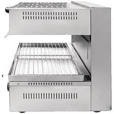 Buffalo <b>Electric</b> Adjustable <b>Salamander Grill</b> Commercial Toaster Oven