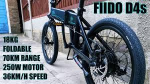<b>FIIDO D4s</b> Electric Bike / 250W Motor / 70KM Range / 36KM/H - Any ...