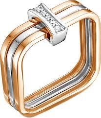 Золотое кольцо <b>Vesna jewelry</b> 11012-151-00-01 с бриллиантами ...