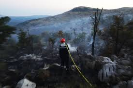 فرنسا - اعتقال فتى تسبب بحريق هائل في حديقة كلانك الطبيعية
