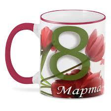 <b>3D кружка Printio</b> на 8 Марта #2642510 Керамика - купить в ...