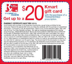 $20 Off Kmart Coupons