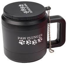 <b>Лапомойка Paw Plunger малая</b> черная — купить по выгодной ...