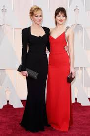 oscars dakota johnson is fifty shades of snippy ny daily johnson snipped at her mom actress melanie griffith while talking about her new racy