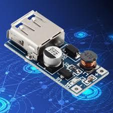 0.9V-5V to 5V DC-DC Booster Module USB Mobile <b>Step</b>-up Power ...