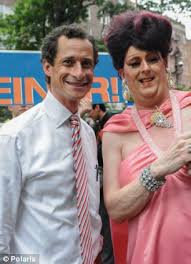 Image result for Anthony Weiner gay pride parade