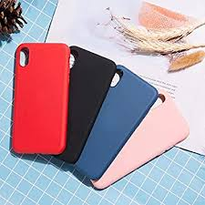 Wayamiaow Simple <b>Solid Color Silicone</b> Mobile Phone <b>Case</b>, Cute ...