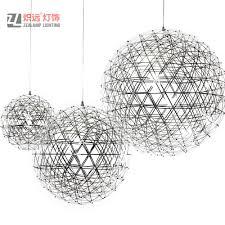 <b>Modern Nordic</b> Creative Stainless Steel Lighting Fireworks Ball <b>LED</b> ...