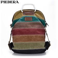 <b>PHEDERA New Female</b> Shoulder Bags Casual <b>Canvas Women</b> ...