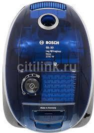Купить <b>Пылесос BOSCH BSGL32383</b>, синий в интернет-магазине ...