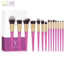 <b>Docolor 14PCS</b> Professional <b>Make Up Brushes</b> High Quality ...