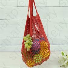 Woven <b>Mesh Shopping</b> Storage <b>Bag</b> Reusable <b>Grocery</b> Shopper ...