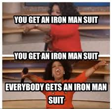 Now that's an Oprah I'd attend! - Don't Hate The Geek via Relatably.com