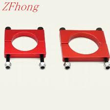 4pcs/lot Red colour Carbon fiber tube clamp /<b>CNC aluminum</b> tube ...