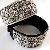 <b>Плетёный</b> женский <b>серебряный браслет</b> с кристаллами ...