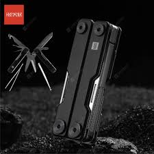 HUOHOU MINI <b>Multi</b>-<b>Function Knife</b> Pocket <b>Folding Knife</b> Stainless ...