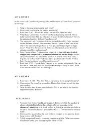 romeo and juliet study questions   act