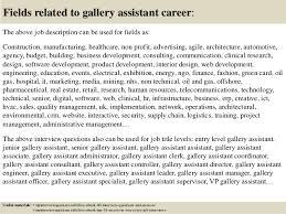 Art Gallery Sales Job Description