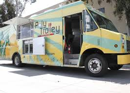 poly trolley at cal poly pomona university