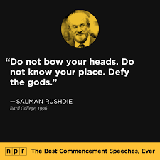 Salman Rushdie Quotes Defy The Gods. QuotesGram