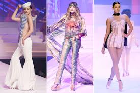Stars hit the runway for <b>Jean Paul Gaultier's</b> last runway show