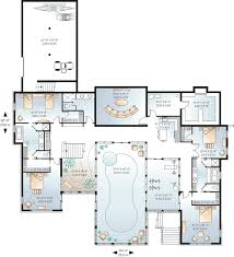 Awesome House Plans With Pools   House Floor Plans With Indoor    Awesome House Plans With Pools   House Floor Plans With Indoor Pool