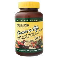 <b>Source Of Life</b> Multi-Vitamin Whole Food (180) The Vitamin Shoppe