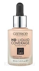 Отзывы на Легкое <b>тональное</b> средство Catrice <b>HD</b> Liquid ...