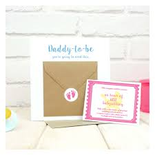 new daddy to be babysitting coupon voucher card chi chi moi