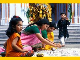 essay on durga puja in bengali