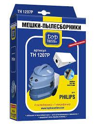 <b>Двухслойные мешки</b>-пылесборники TH 1207 Р, 4 шт. + 1 м.ф. для ...