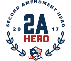 awards uscca concealed carry expo the second amendment hero award