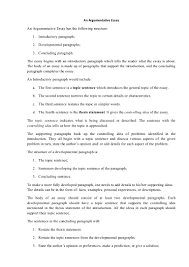 cover letter format for an argumentative essay example outline for cover letter format for writing an argumentative essay exampleformat for an argumentative essay extra medium size