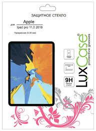 Защитное стекло <b>LuxCase</b> для <b>Apple</b> iPad Pro 12.9 2018 — купить ...