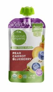 Simple Truth Organic™ Pear Carrot Blueberry Stage 2 ... - Food 4 Less